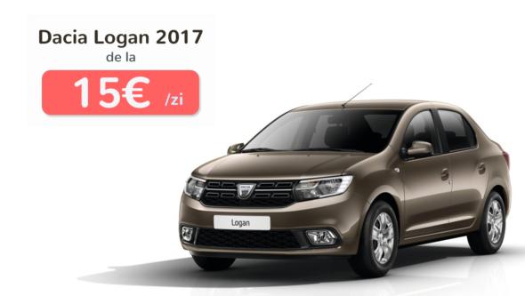 Închiriază Dacia Logan 2017 direct în Aeroportul Otopeni