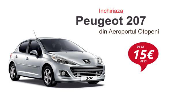 Inchirieri Peugeot 207 Otopeni Conduci.Ro